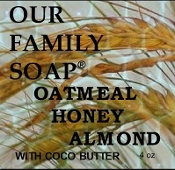 Oatmeal Honey Almond with Coco Butter Bar Soap