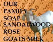 Sandalwood Rose Goats Milk