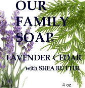 LAVENDER CEDAR with Shea Butter