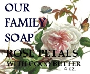 Rose Petal with coco butter